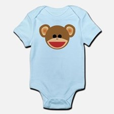 Wild Sock Monkey Child Body Suit