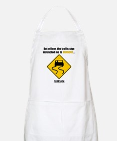 Burnout Traffic Sign Apron