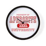 Aphrodite University Wall Clock