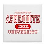 Aphrodite University Tile Coaster