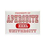 Aphrodite University Rectangle Magnet