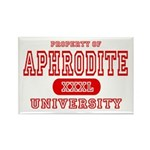 Aphrodite University Rectangle Magnet (10 pack)
