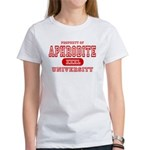 Aphrodite University Women's T-Shirt
