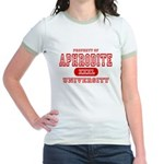 Aphrodite University Jr. Ringer T-Shirt