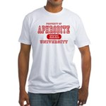 Aphrodite University Fitted T-Shirt