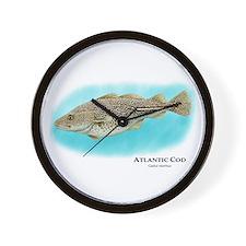 Atlantic Cod Wall Clock