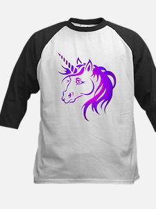 Purple Unicorn Baseball Jersey