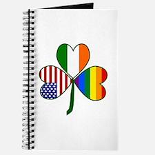 Gay Pride Shamrock Journal