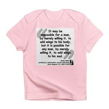 Adler Wings Quote Infant T-Shirt