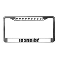 Got Canaan Dog? License Plate Frame