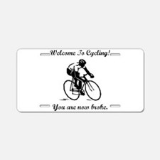 Cute Armstrong Aluminum License Plate