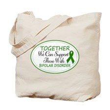 Bipolar Disorder Support Tote Bag