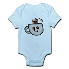 Chibi Teabag and Tea Cup Body Suit