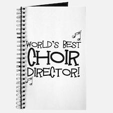 Worlds Best Choir Director Journal
