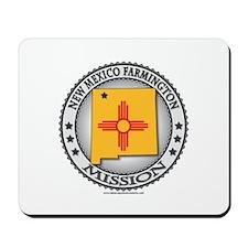 New Mexico Farmington LDS Mission State Flag Mouse
