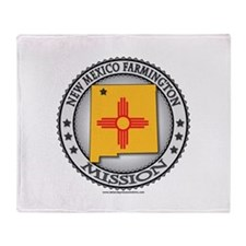 New Mexico Farmington LDS Mission State Flag Stad