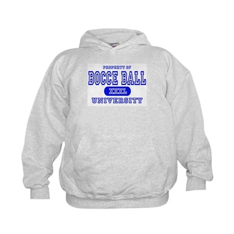 Bocce Ball University Kids Hoodie
