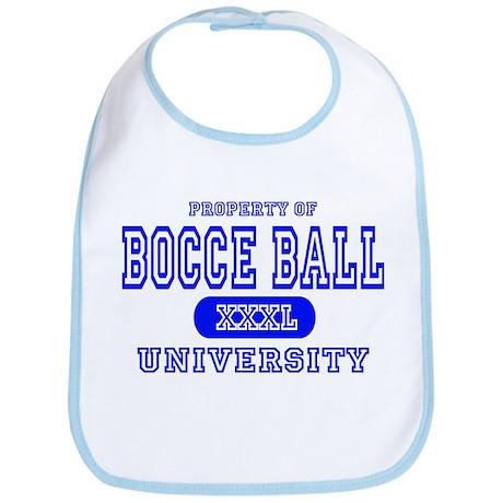 Bocce Ball University Bib