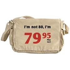 Funny Tax 80th Birthday Messenger Bag