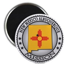 New Mexico Albuquerque LDS Mission State Flag 2.25