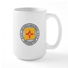 New Mexico Albuquerque LDS Mission State Flag Mug