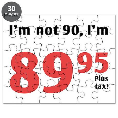 Funny Tax 90th Birthday Puzzle