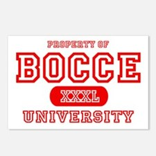 Bocce University Postcards (Package of 8)