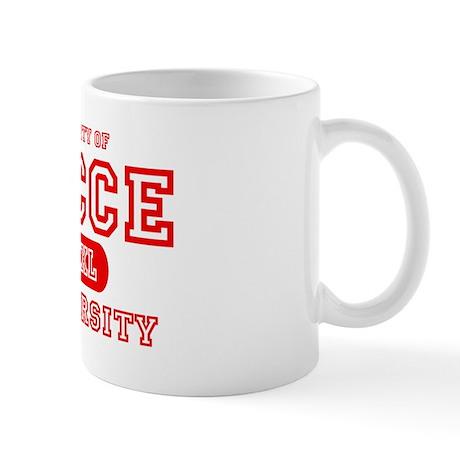 Bocce University Mug