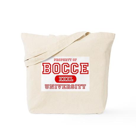 Bocce University Tote Bag