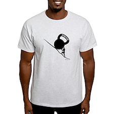 sisyphus Kettlebell Persevere T-Shirt