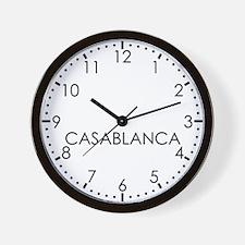 CASABLANCA Modern Newsroom Wall Clock
