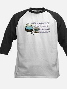 If I Stitch Fast... Baseball Jersey