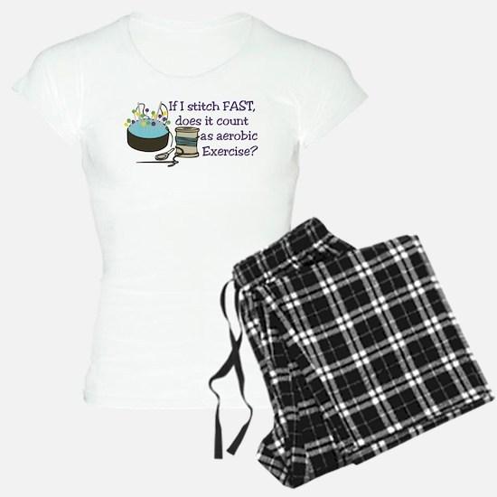 If I Stitch Fast... Pajamas