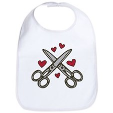 Hairdresser Love Bib