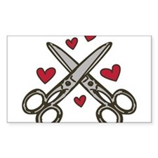 Hairdresser Love Decal