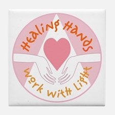 Healing hands - Tile Coaster