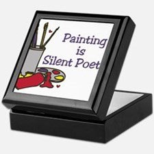Silent Poetry Keepsake Box