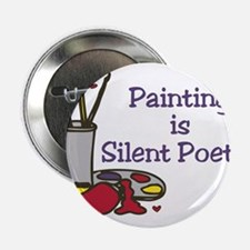"""Silent Poetry 2.25"""" Button"""