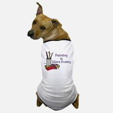 Silent Poetry Dog T-Shirt