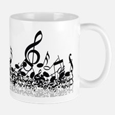 Music Notes Small Mugs