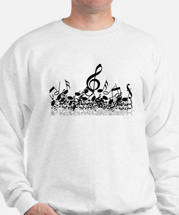 Music Notes Sweater