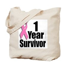 Breast Cancer Survivor D1 Tote Bag