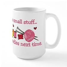 Use Bigger Needles Mug