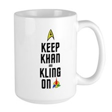KeepKhan_BlackColor Mug
