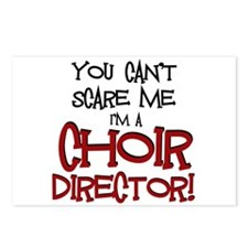 You Cant Scare Me...Choir... Postcards (Package of