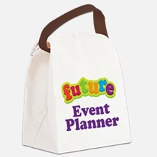Future Event Planner Canvas Lunch Bag