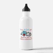 Material Girl Water Bottle