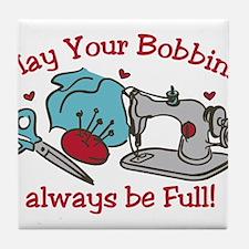 Bobbins Tile Coaster