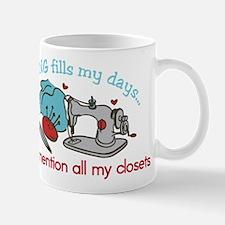 Fills My Days Mug