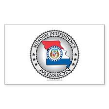 Missouri Independence LDS Mission State Flag Stick